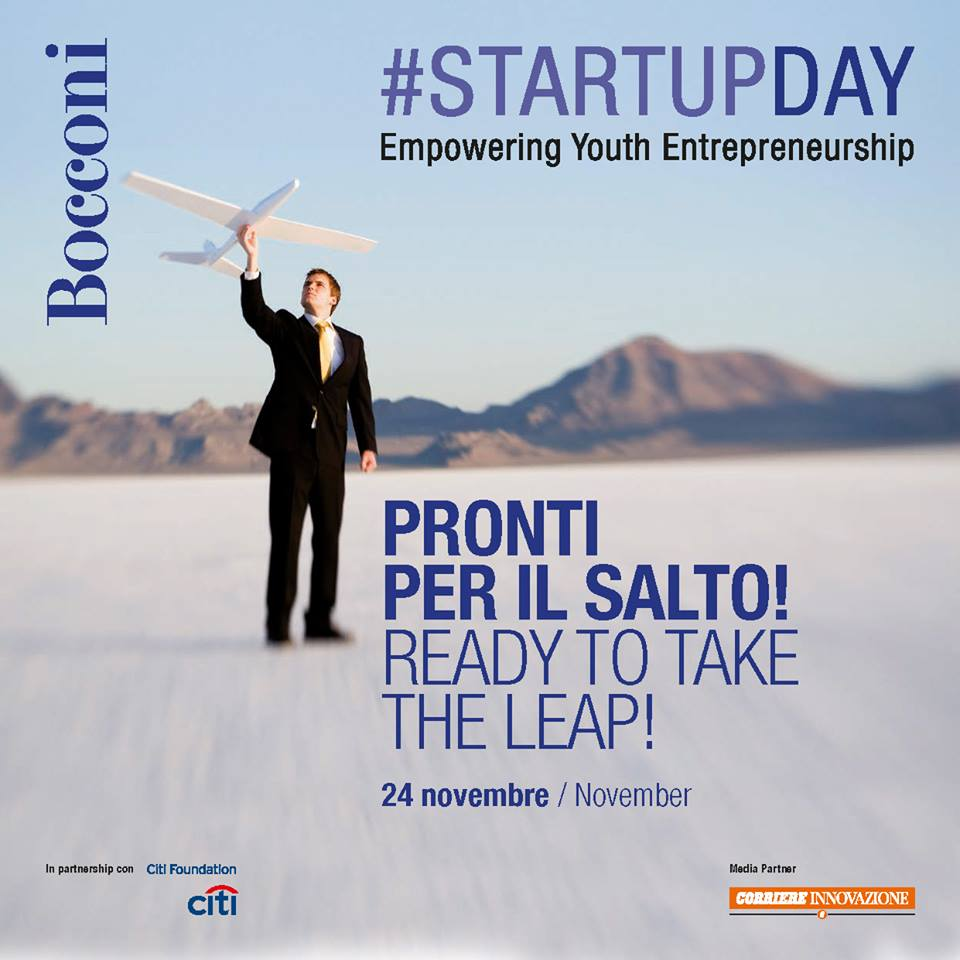 Startup Day Università Bocconi Roofingreen finalista
